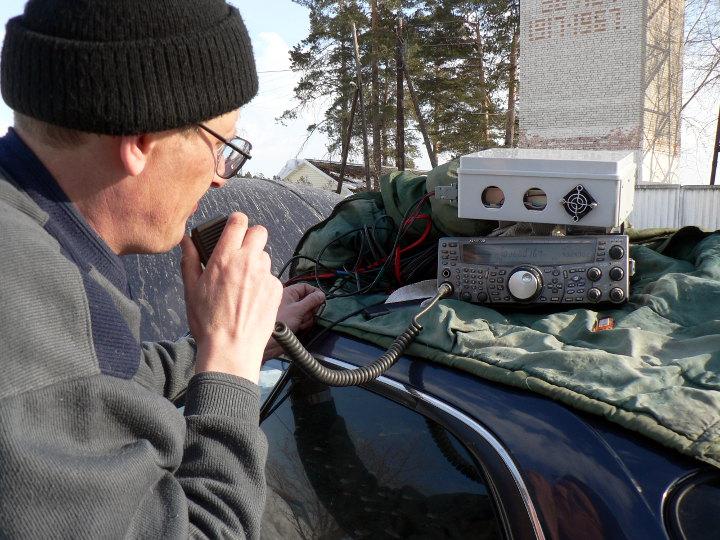 фото проведения радиосвязи RA9YMI и UA9YJM
