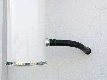 Could horn 23cm wall in