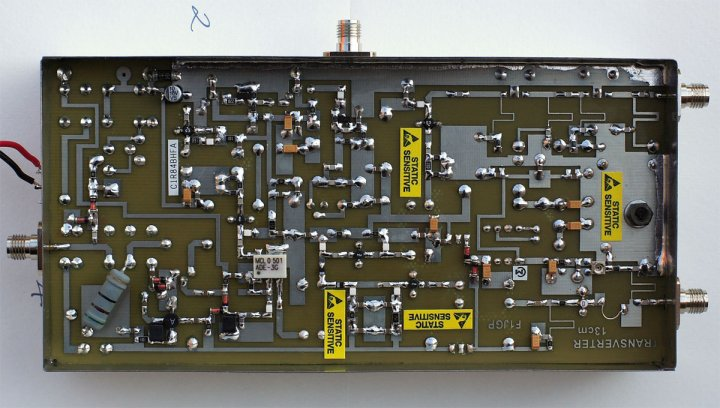 Трансвертер F1JGP на 2320 МГц