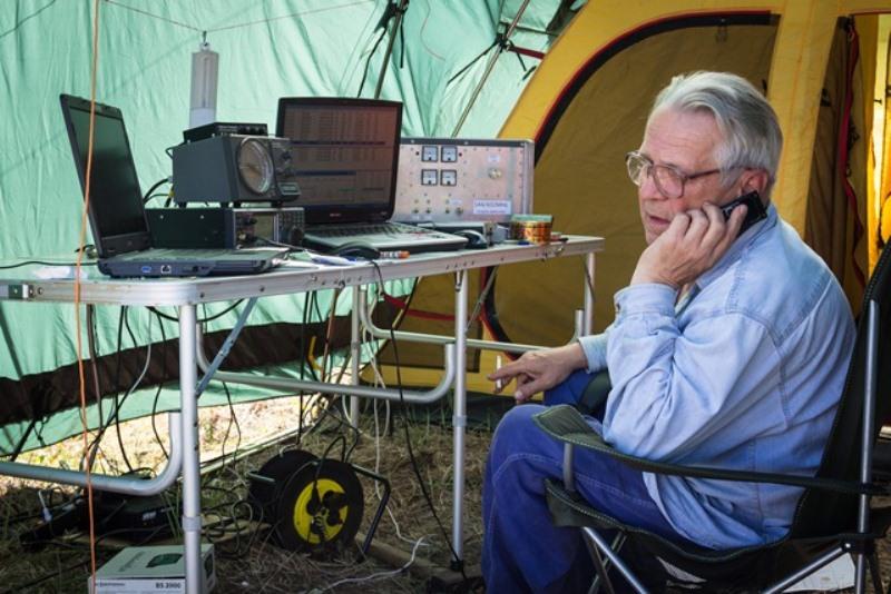 14. RW3TJ в эфире VHF UHF