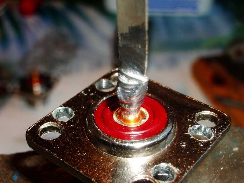 Запайка подвижного контакта на PL разъёме с бандажом.jpg 2
