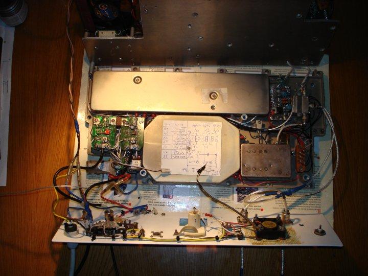 Трехдиапазоннай антенный блок US7VA